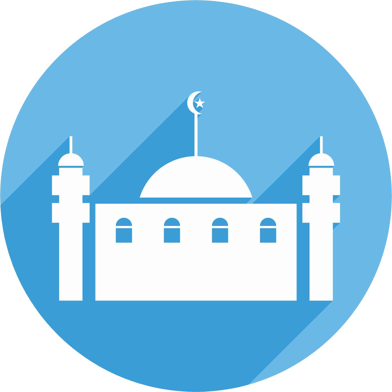 Flat Design Icon Masjid1